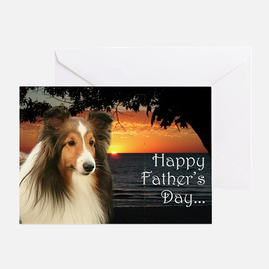 Sheltie Father's Day Card