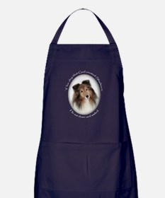 Sheltie Apron (dark)