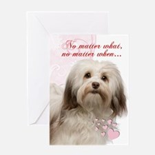 Havanese Valentine's Day Greeting Cards