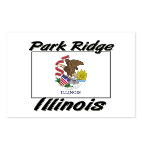 Park Ridge Illinois Postcards (Package of 8)