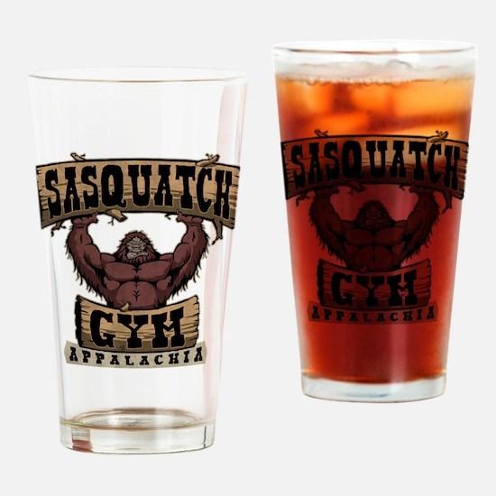 Sasquatch Gym Drinking Glass
