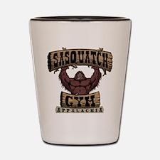 Sasquatch Gym Shot Glass