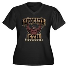 Sasquatch Gym Plus Size T-Shirt