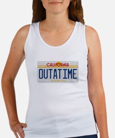 License plate OUTATIME Tank Top