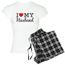 I Love My Husband (Black te pajamas