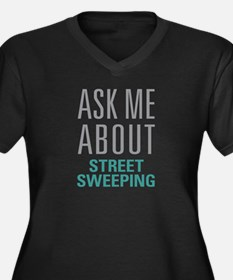 Street Sweeping Plus Size T-Shirt