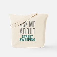 Street Sweeping Tote Bag