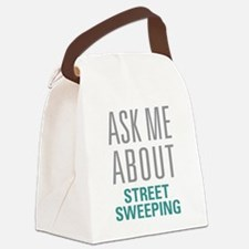 Street Sweeping Canvas Lunch Bag