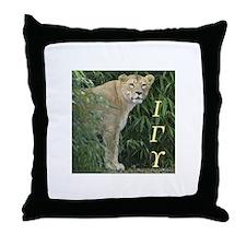 Cool Iota Throw Pillow