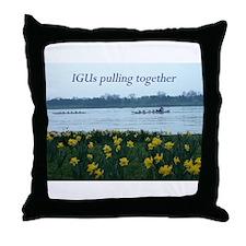 IGU Throw Pillow - IGUs Pulling Together
