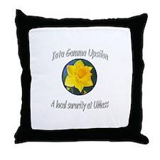 IGU Throw Pillow - Local Srority at UMASS