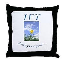IGU Throw Pillow - Always Original