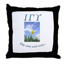 IGU Throw Pillow - The One and Only