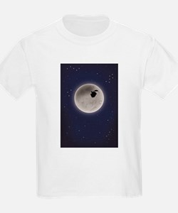 Unique Moon and stars T-Shirt