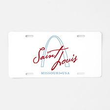 Unique Saint louis cardinals Aluminum License Plate