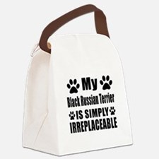 Black Russian Terrier is simply i Canvas Lunch Bag