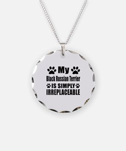 Black Russian Terrier is sim Necklace