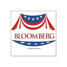 "Cute Michael bloomberg Square Sticker 3"" x 3"""