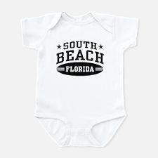 South Beach Florida Infant Bodysuit