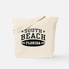 South Beach Florida Tote Bag