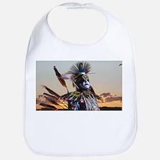 Native American Crow Warrior Bib