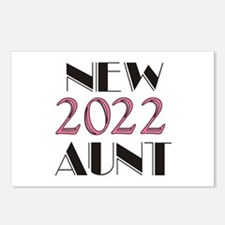 2016 New Aunt Postcards (Package of 8)