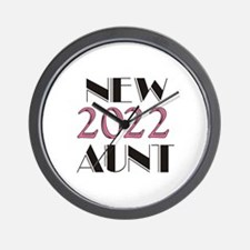 2016 New Aunt Wall Clock