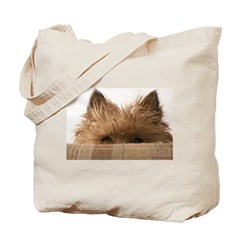 Peeking Boy Tote Bag