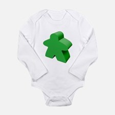 Green Meeple Body Suit