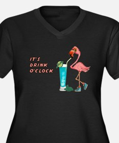 It's Drink O'Clock Plus Size T-Shirt