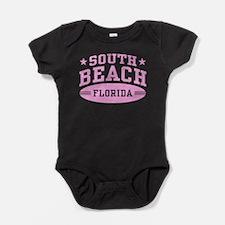 South Beach Florida Baby Bodysuit