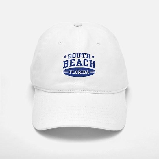 South Beach Florida Baseball Baseball Cap