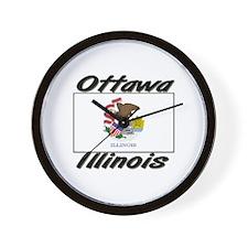 Ottawa Illinois Wall Clock