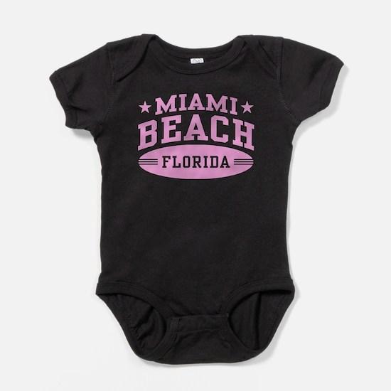 Miami Beach Florida Baby Bodysuit