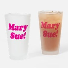 Mary Sue! Drinking Glass