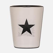 Cute Bowie Shot Glass