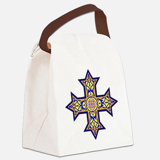 Unique Crosser Canvas Lunch Bag