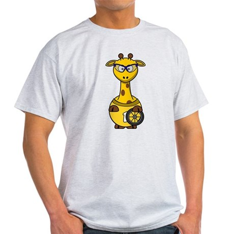 Cyclist Giraffe T-Shirt