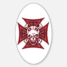 The Haunted Dead II Oval Decal