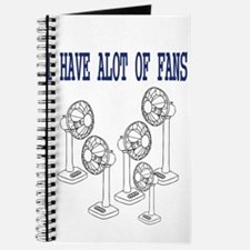 i have fans Journal