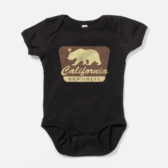 California Republic (vintage park style) Baby Body