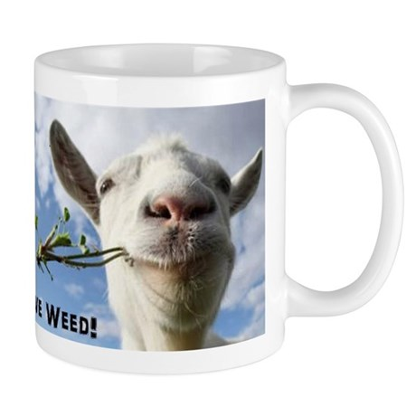 Weed Goat Mugs by Admin_CP129251274