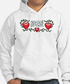 Hearts and Vines Special Person Hoodie