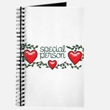 Hearts and Vines Special Person Journal