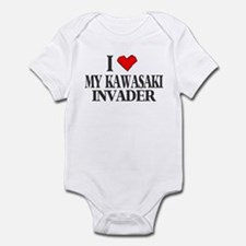 I Heart My Invader Infant Bodysuit
