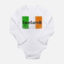 Cute Irish holiday and occasions Long Sleeve Infant Bodysuit