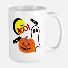 Halloween Boo Friends Large Mug
