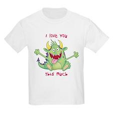 I love bacon valentine T-Shirt