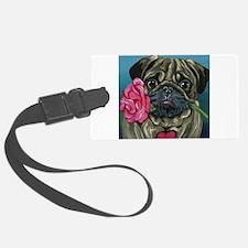 Pug Valentine Luggage Tag