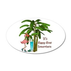 It's Happy Hour Somewhere Wall Decal